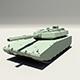 Lowpoly Tank