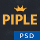 Piple - Business & Ecommerce PSD Template