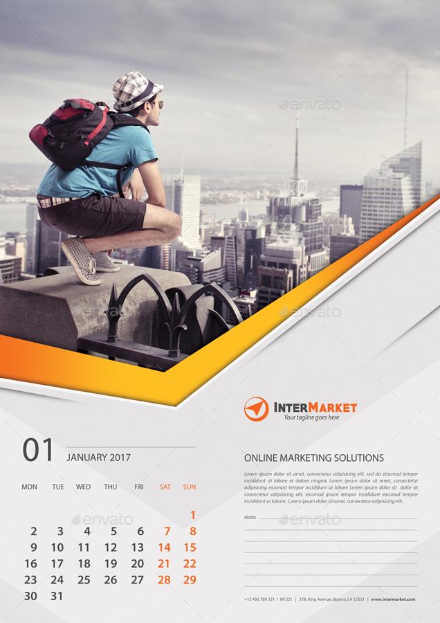 Corporate Wall Calendar Ideas : Corporate business wall calendar v by rapidgraf
