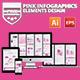 Pink Pack Infographics Design