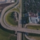 Aerial View Of Highway Interchange In Krasnodar City, Russia