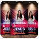 Bible Study Church Flyer Psd Template Bundle