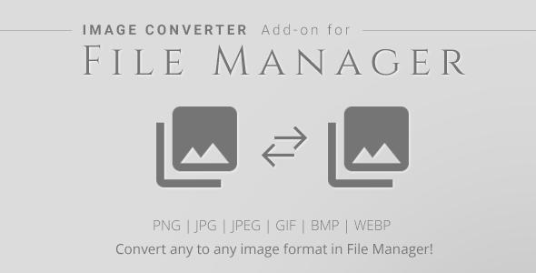Download Image Converter - File Manager Add-on