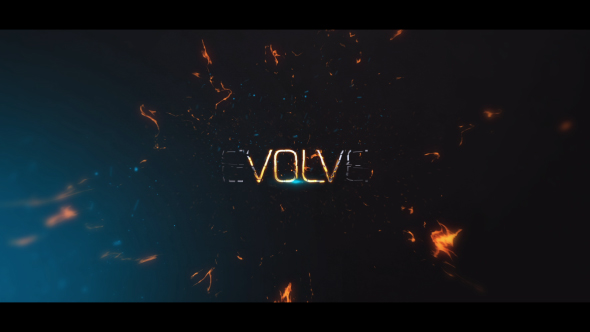 evolve powerful cinematic titles fire after effects templates f5. Black Bedroom Furniture Sets. Home Design Ideas
