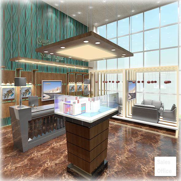 Sales Office - 3DOcean Item for Sale
