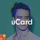 uCard - A vCard Template