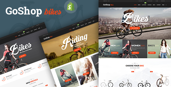 SP GoShop - Bike Store Responsive Shopify Theme