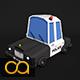 Low Poly Police Car 2