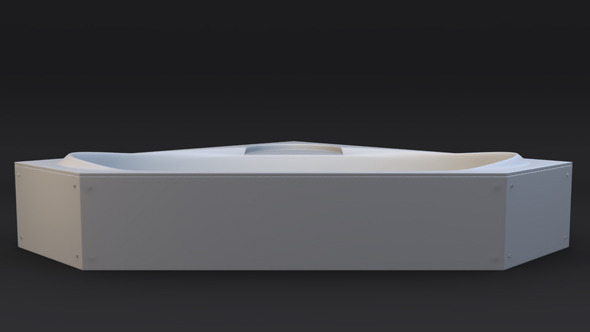 3DOcean Bathtub Model 1666417