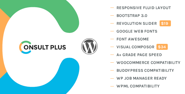 Download Consult Plus - Corporate Business WordPress Theme nulled download