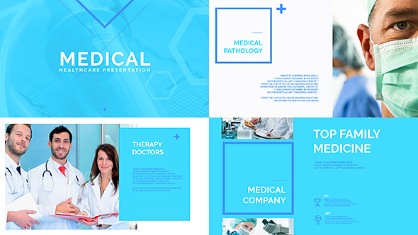 Medical Healthcare Presentation - Modern, Simple, & Clean Professional After Effects Template