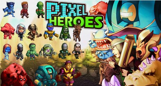 Pixel Heroes Kit