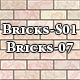 Hi-Res Texture Bricks-07 of Brick Textures - S01