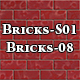 Hi-Res Texture Bricks-08 of Brick Textures - S01