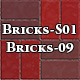 Hi-Res Texture Bricks-09 of Brick Textures - S01