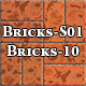Hi-Res Texture Bricks-10 of Brick Textures - S01