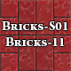 Hi-Res Texture Bricks-11 of Brick Textures - S01