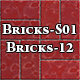 Hi-Res Texture Bricks-12 of Brick Textures - S01