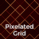 Pixelated Grid Backgrounds
