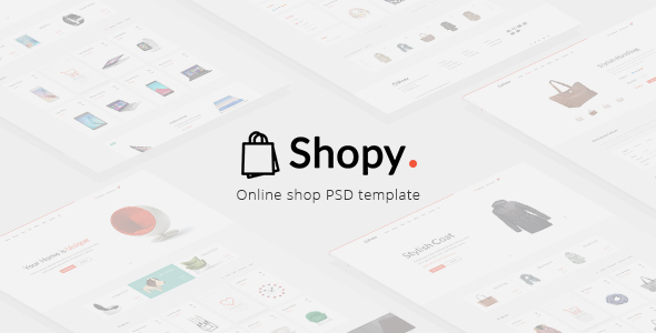 Shopy - Online Shop PSD Template