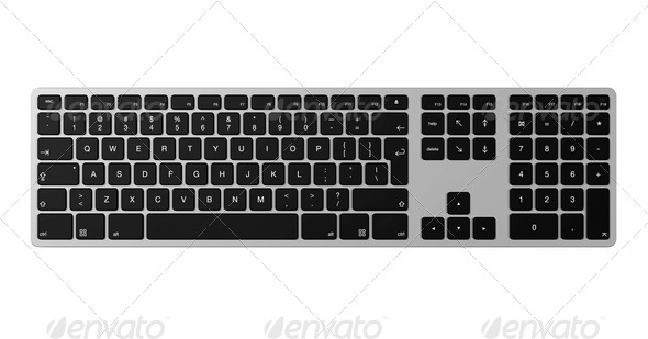 Computer Keyboard - Stock Photo - Images