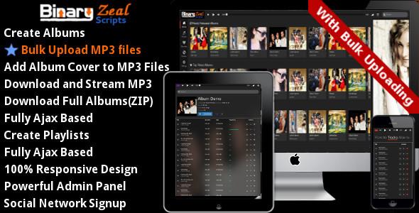 MP3 Gallery Script