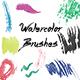 23 Handmade Watercolor Brushes Set