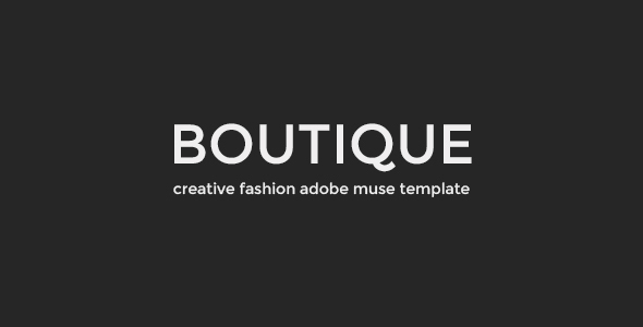 Boutique - Fashion Muse Template