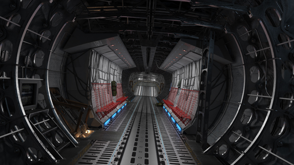 Download Cargo Plane Interior Flytrough  nulled download