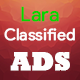 LaraClassified - Geo Classified Ads CMS