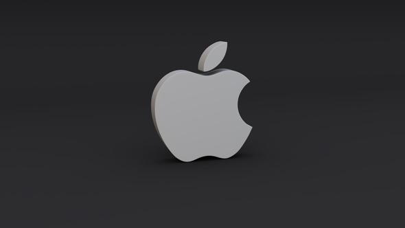 Apple Logo Model - 3DOcean Item for Sale