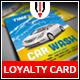 Car Wash Loyalty Card