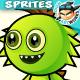 Monster Enemies 2D Game Character Sprites 228