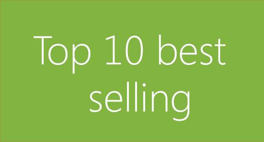 Top 10 best selling