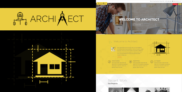 Download Architect - Responsive Architecture Template