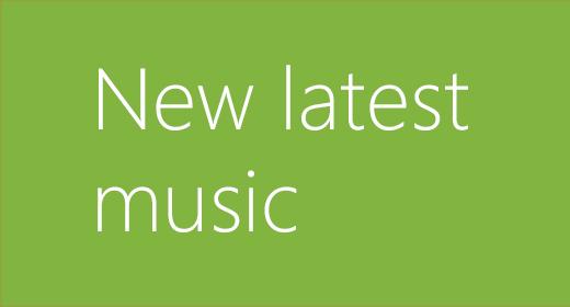 New latest music