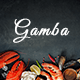 Gamba - Food & Restaurant PSD Template