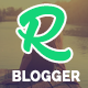 Relish - A Responsive Blog Style Blogger Template