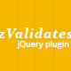 zValidates - Powerful jQuery plugin for inputs validations