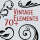 Vintage Frames and Laurel Wreaths