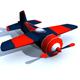 Low Ploy Plane