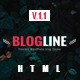 Blogline - Responsive Blog Html5 Template