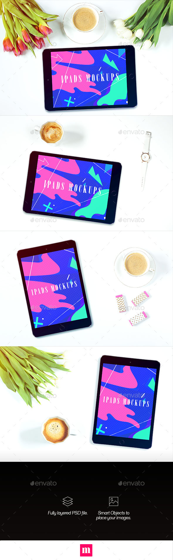 Pads - Mockups VOL04 (Displays)