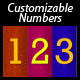 Customizable Numbers - GraphicRiver Item for Sale