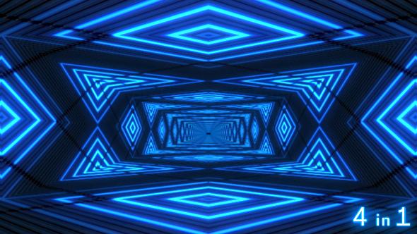 VJ Neon Lights Room Nulled Download