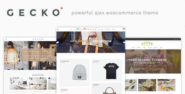 Download Gecko - Powerful Ajax WooCommerce Theme