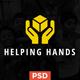 Helping Hands - Multipurpose Non-profit PSD Template