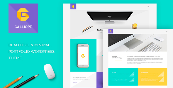 Download Galliope - Agency/Portfolio WordPress Theme