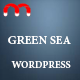 Greensea - Landing Page WordPress Theme