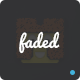 Faded - App Landing PSD Template